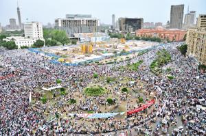 Tahrir Square, May 27, 2011 - photo by Jonathan Rashad