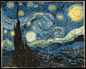 """Starry Night"" by Vincent Van Gogh"